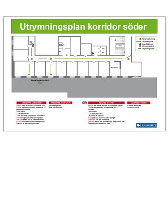 Utrymningsplan LRF Konsult